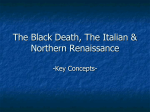 Black Death - Italian/Northern Renaissance Notes