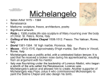 PowerPoint Presentation - Michelangelo