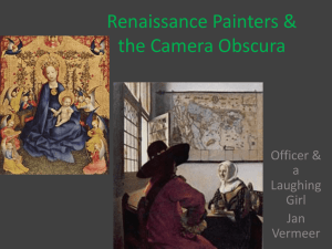 Renaissance Painters & the Camera Obscura