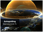 Autoguiding – Beginners Guide to v2.