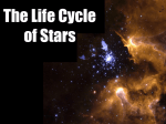 Lifecycle of Stars - Mrs. Plante Science