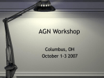 AGN Workshop