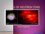 Cooling of Compact Stars