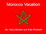Morocco Vacation