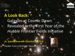 Galaxies at Cosmic Dawn Revealed in the First Year of the
