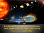 Exoplanets Rising: Understanding Doppler Shift