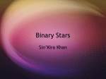 Binary Stars - Mid-Pacific Institute