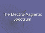 The Electro-Magnetic Spectrum - EHS