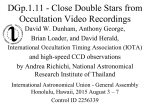 Close Double Stars from Video