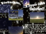 Stellarium is a simple and easy way to look at the