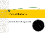 Powerpoint on Constellations