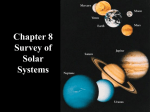 Survey of the Solar Systems