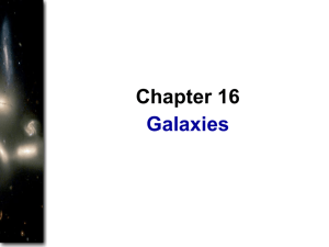 Chap 16: Galaxies