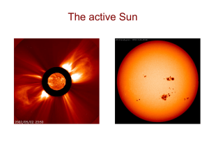 Fundamental properties of the Sun - University of Iowa Astronomy
