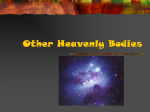 Other Heavenly Bodies