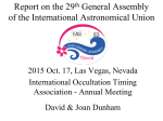 IAU 29th General Assembly