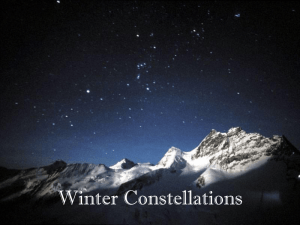 Winter Stargazing - Trimble County Schools