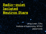 Radio-quiet Isolated Neutron Stars