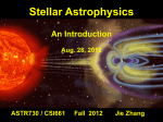 An Introduction  - Solar Physics and Space Weather