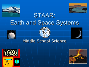 TEKS Presentation Earth and Space Systems