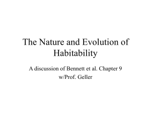 Habitability: Good, Bad and the Ugly