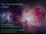 The Lives and Deaths of Stars