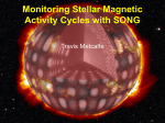 Monitoring Stellar Magnetic Activity Cycles with SONG