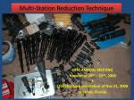 Multi-Station Reduction Techniques