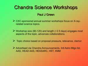 Paul Green - Chandra X-Ray Observatory (CXC)