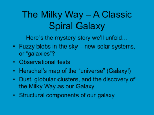The Milky Way – A Classic Galaxy