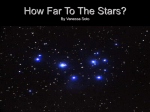 How Far To The Stars? By Vanessa Soto