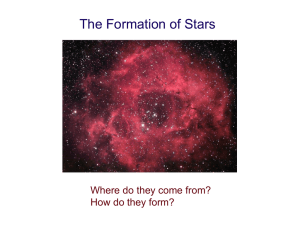 22 October: The Formation of Stars