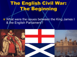 The English Civil War: The Beginning
