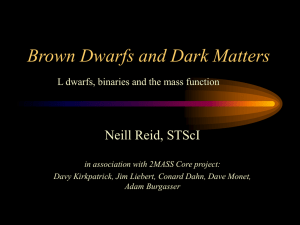 New brown dwarfs and giant planets