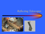 Reflecting Telescopes