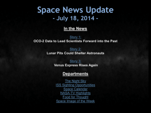 OCO-2 Data to Lead Scientists Forward into the Past