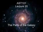 AST101 Lecture 20 The Ecology of the Galaxy