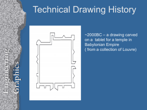 Technical Drawing History