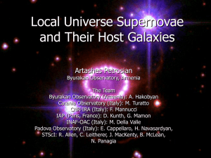 Local Universe Supernovae and Their Host Galaxies