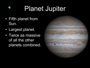 Jupiter - Copeland Science Online