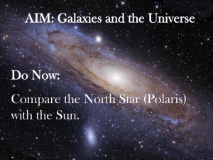 Our Galaxy and the Universe