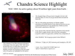 PowerPoint - Chandra X