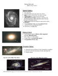 Spiral Galaxy Galaxies flash cards Refer to: Pg. 179-217