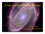 X-ray Sources in Nearby Galaxies Q. Daniel Wang University of Massachusetts