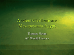 Ancient Civilizations: Mesopotamia