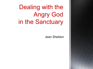 Dealing With the Angry God, Powerpoint