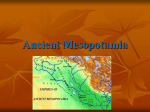 Ancient Mesopotamia Sumerian empire
