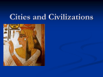 """Cities and Civilizations"" PowerPoint"