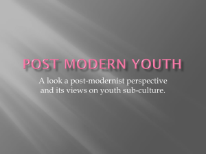 Post Modern Youth