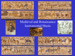 Medieval and Renaissance Instrumental Music